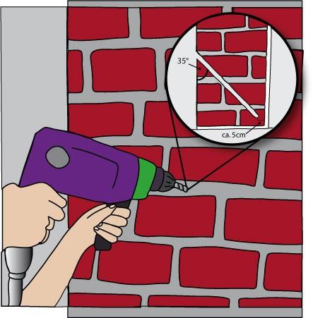 Bevorzugt Horizontalsperre selber machen - Anleitung   Tobolin Shop WV13